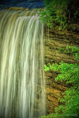 Photograph -  Tahquamenon Falls by LeeAnn McLaneGoetz McLaneGoetzStudioLLCcom