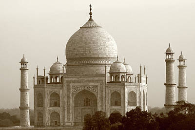 Photograph - Taj Mahal, Agra, India by Aidan Moran