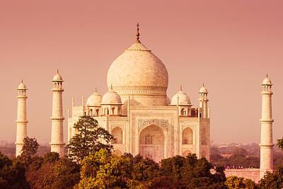 Photograph - Taj Mahal From A Distance by Nila Newsom