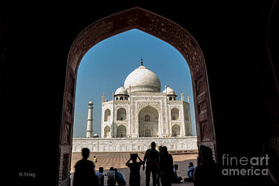 Photograph - Taj Mahal From The Main Gate by Rene Triay Photography