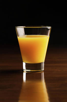 Juice Orange Photograph - Take A Sip, Please by Vadim Goodwill
