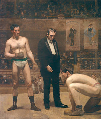 Boxer Painting - Taking The Count by Mountain Dreams