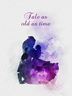 Mixed Media - Tale As Old As Time by Rebecca Jenkins