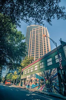 Madonna - Tall highrise buildings in uptown charlotte near blumenthal perf by Alex Grichenko