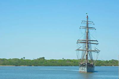 Tall Ship Elissa Art Print