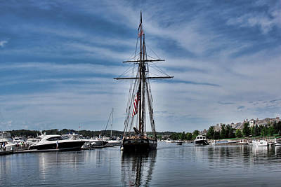 Photograph - Tall Ship Lynx by Pat Cook