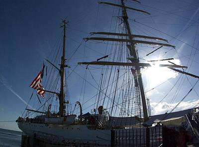 Photograph - Tall Ships 12 by Perry Frantzman
