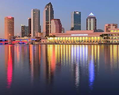 Photograph - Tampa Colors by Frozen in Time Fine Art Photography