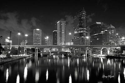 Tampa Skyline Photograph - Tampa Skyline by Gary Bydlo