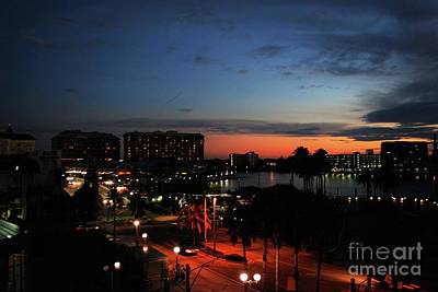 Photograph - Tampa Twilight by Gary Wonning