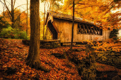 Photograph - Tannery Hill Bridge by Robert Clifford