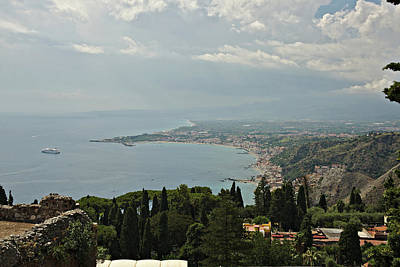 Photograph - Taormina by Cendrine Marrouat
