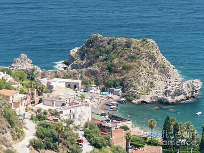 Photograph - Taormina Vista by Rod Jones
