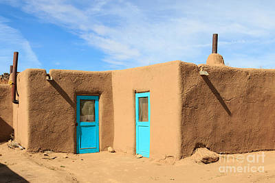 Photograph - Taos Pueblo by Richard Smith