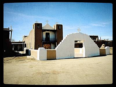 Photograph - Taos Something In The Light 1 by Mario Perron