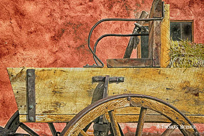 Photograph - Taos Wagon by R Thomas Berner