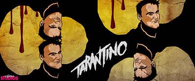 Death Proof Digital Art - Tarantino  by Michael Spatola