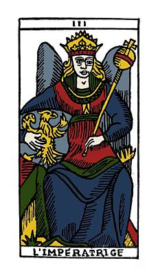 Photograph - Tarot Card The Empress by Granger