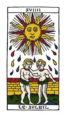 Photograph - Tarot Card The Sun by Granger