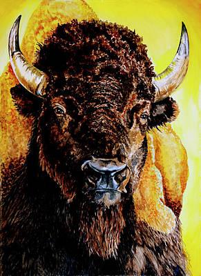 Tatanka Art Print by Robert M Walker