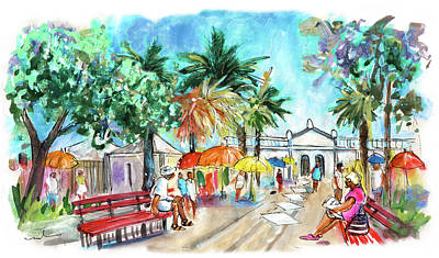 Painting - Tavira 09 by Miki De Goodaboom