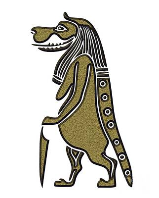 Taweret - Mythical Creature Of Ancient Egypt Art Print