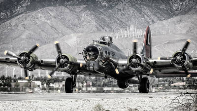 Photograph - B-17 Bomber Madras Maiden  by Sandra Selle Rodriguez