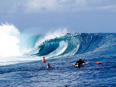 Kelly Slater Photograph - Teahupoo Wave by Danny Aab