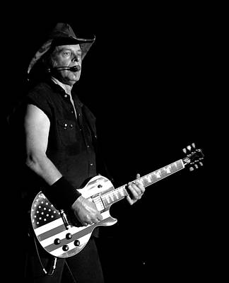 Nugent Photograph - Ted Nugent by Matthew Heller