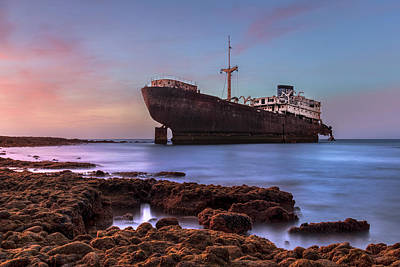 Halls Harbour Photograph - Temple Hall - Lanzarote by Joana Kruse