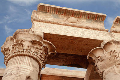 Photograph - Temple Of Kom Ombo by Silvia Bruno
