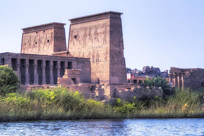 Temple Of Philae - Egypt Print by Joana Kruse
