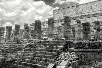 Photograph - Temple Of The Warriors  by Wes Jimerson