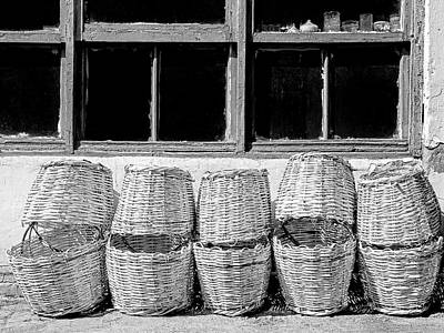 Photograph - Ten Baskets by Dominic Piperata