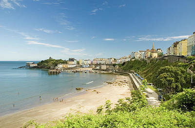Photograph - Tenby Harbour by Jeremy Voisey