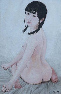 Painting - Tenderness by Masami Iida