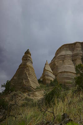 Tent Rocks Art Print by Jeff Swan