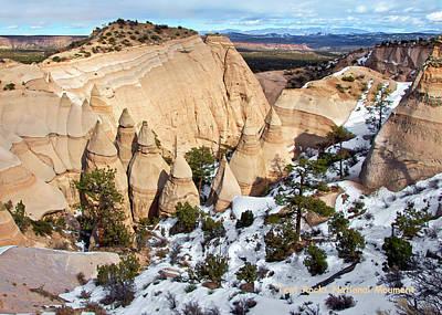 Photograph - Tent Rocks National Monument by Britt Runyon