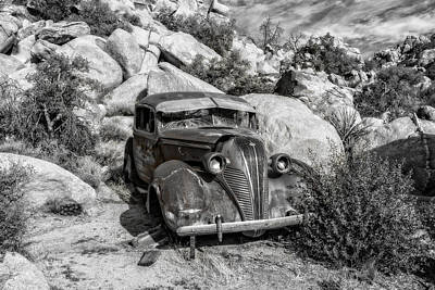 Photograph - Terraplane Hudson  by Sandra Selle Rodriguez