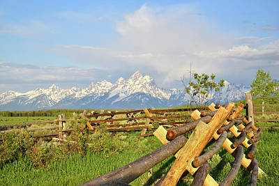 Photograph - Teton Morning by Ray Mathis