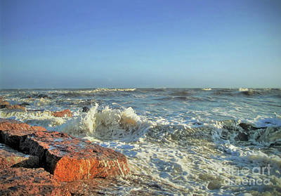Photograph - Texas Gulf Coast by Savannah Gibbs