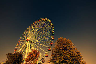 Photograph - Texas Star Ferris Wheel by Douglas Barnard
