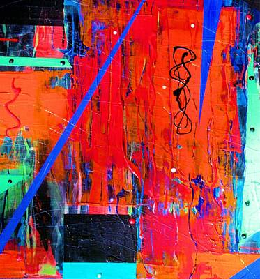 Painting - Textured Abstract by Carolyn Repka