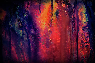 Painting - Textured Abstract by Lilia D