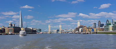Photograph - Thames View by Stewart Marsden