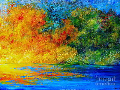 Painting - Memories Of Summer by Teresa Wegrzyn