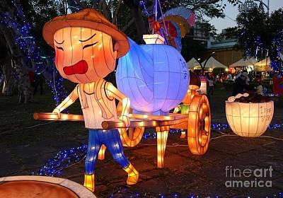 Photograph - The 2016 Kaohsiung Lantern Festival by Yali Shi
