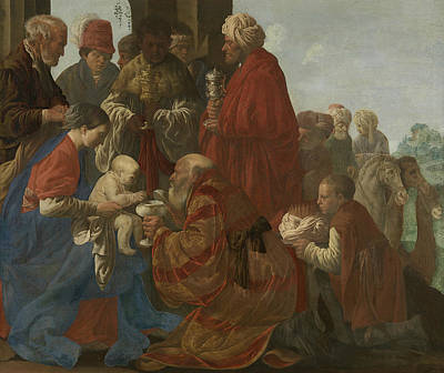 Painting - The Adoration Of The Magi by Hendrick ter Brugghen