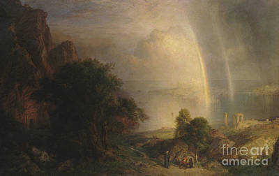 The Aegean Sea Art Print by Frederic Edwin Church