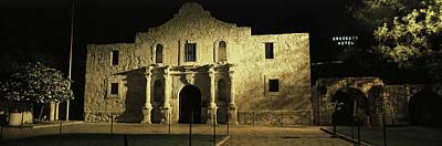 The Alamo San Antonio Tx Art Print by Panoramic Images